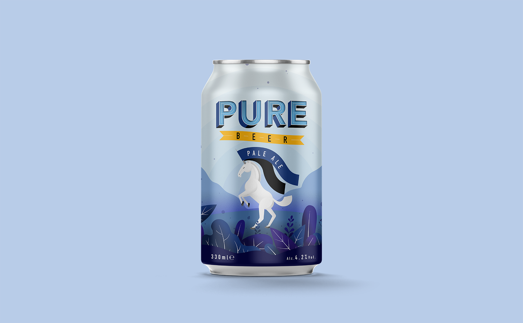 Pure Beer can